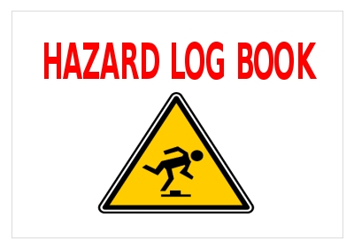 Community Building Hazard Log Book