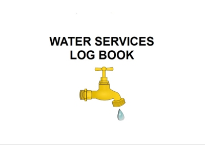 Community Buildings Water Testing Log Book
